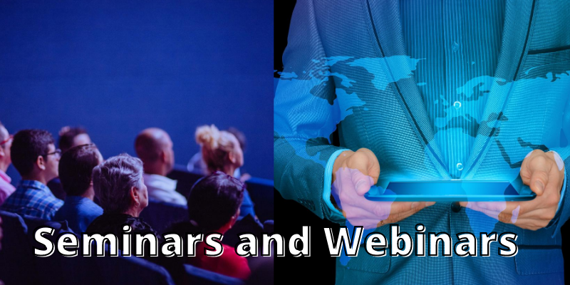Webinar and Seminar under Health Education Research